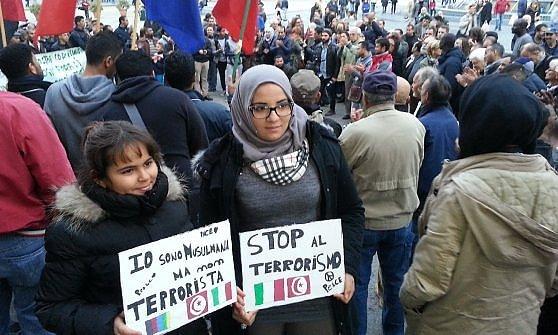 musulmana non terrorista